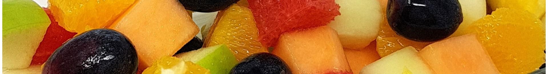 Fruchtsalate & Fruchtsäfte